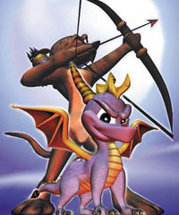 Spyro and Hunter